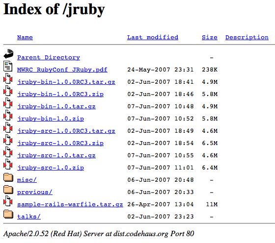 JRuby 1.0