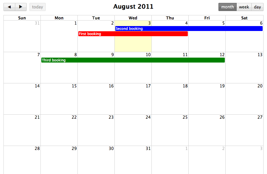 Building a shared calendar with Backbone js and FullCalendar: A step