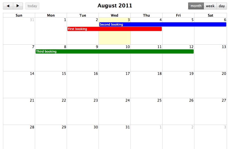 Calendar Planner Nodejs : Building a shared calendar with backbone js and