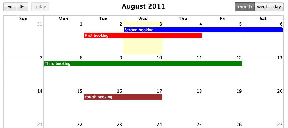 Building a shared calendar with Backbone js and FullCalendar: A step