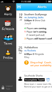 Teamstuff Mobile App