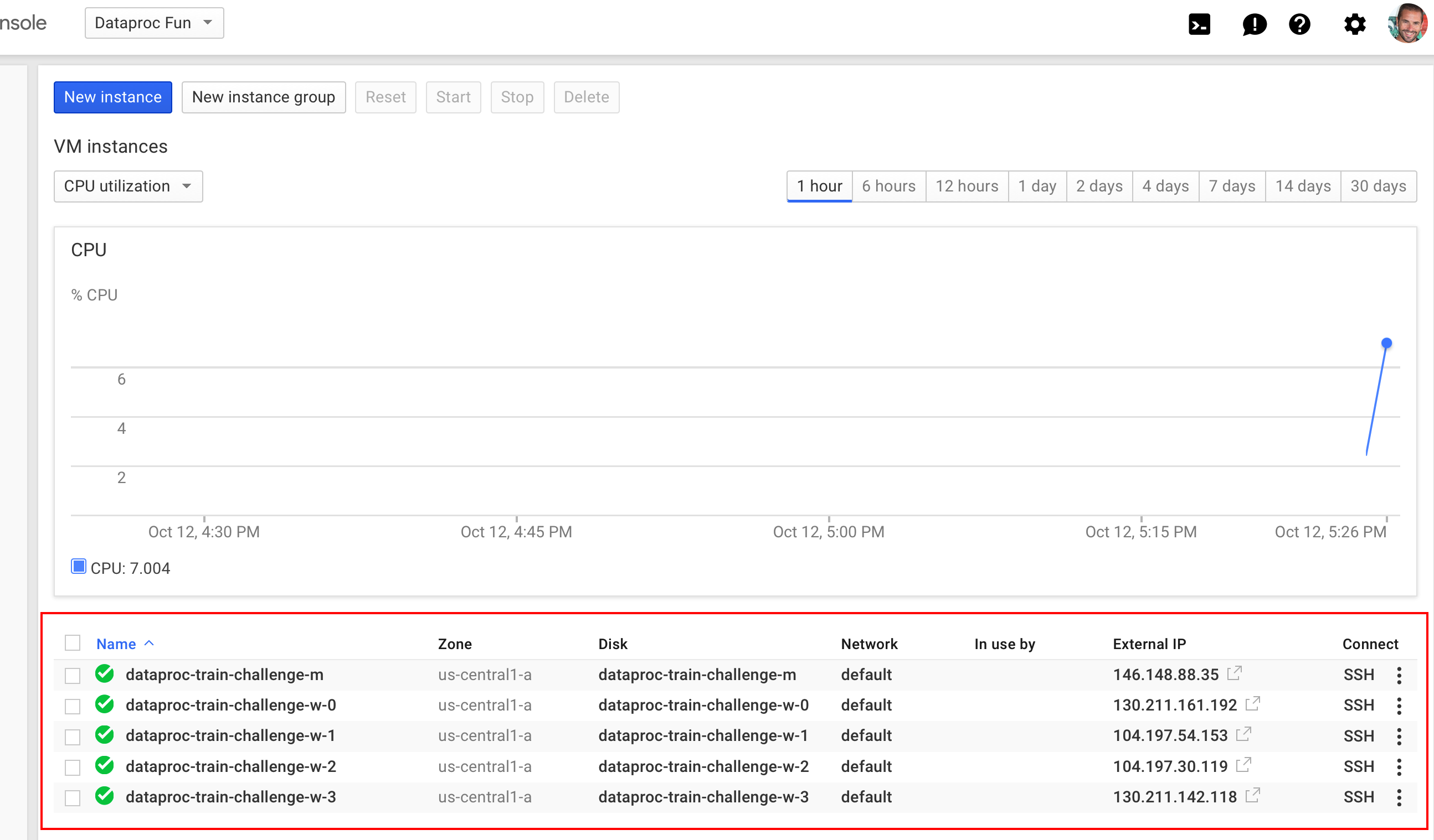 Google Cloud Dataproc and the 17 minute train challenge