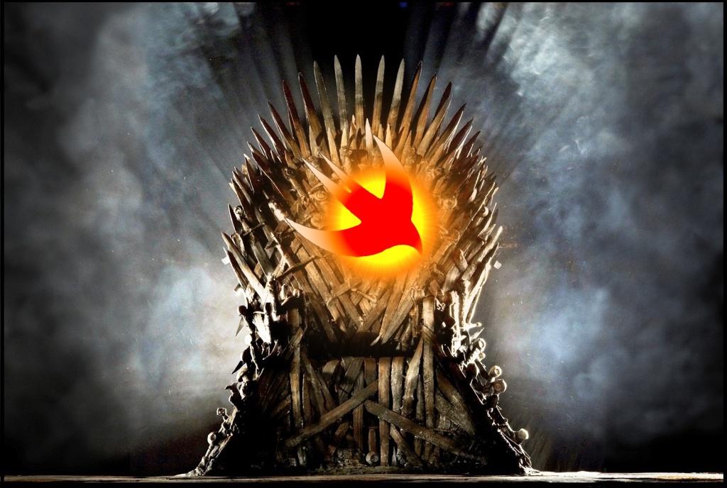 Swift throne