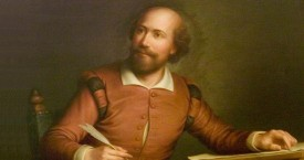 Hall, George Henry, 1825-1913; An Ideal Portrait of William Shakespeare (1564-1616)