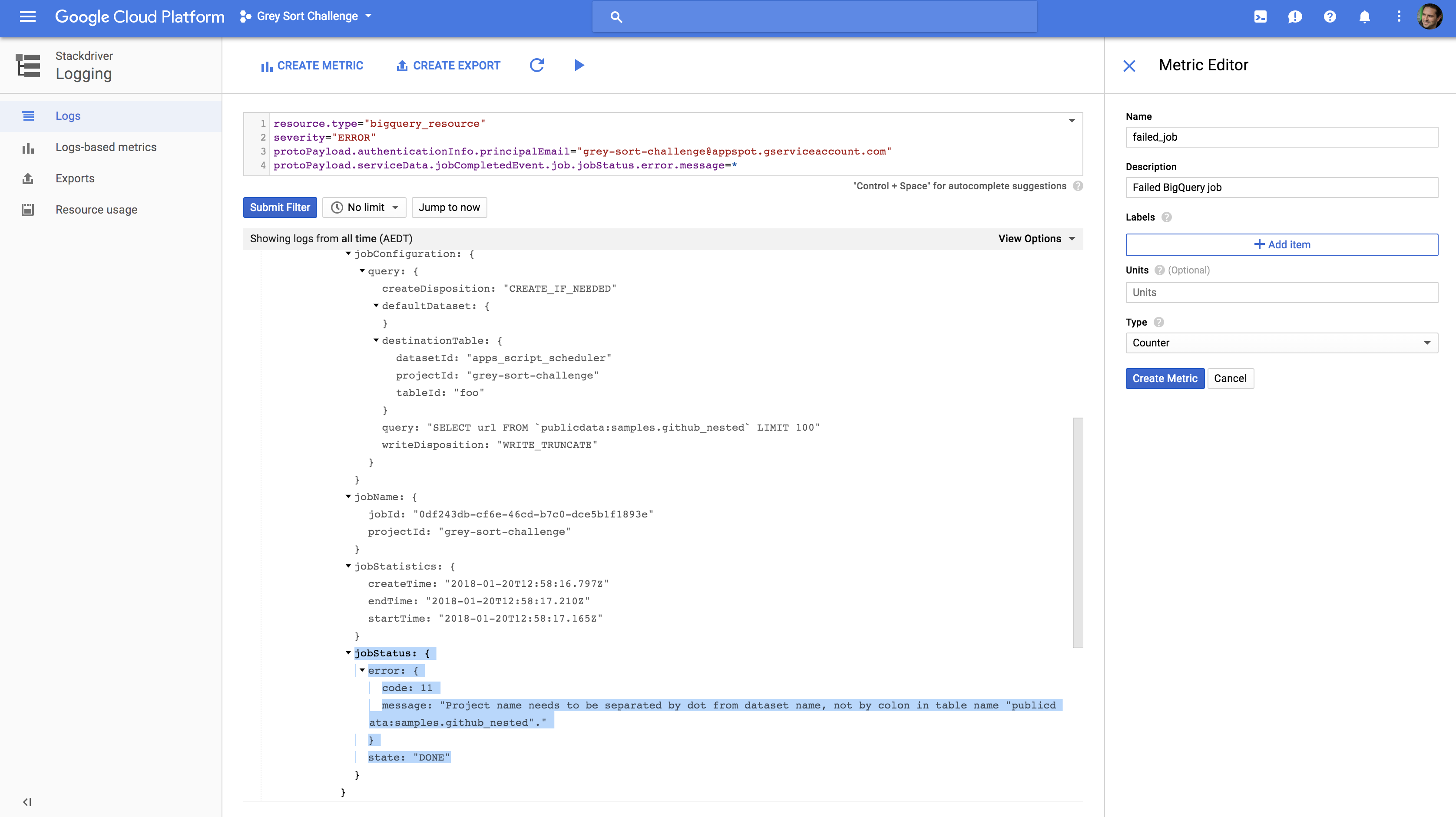 Scheduling BigQuery jobs: this time using Cloud Storage & Cloud